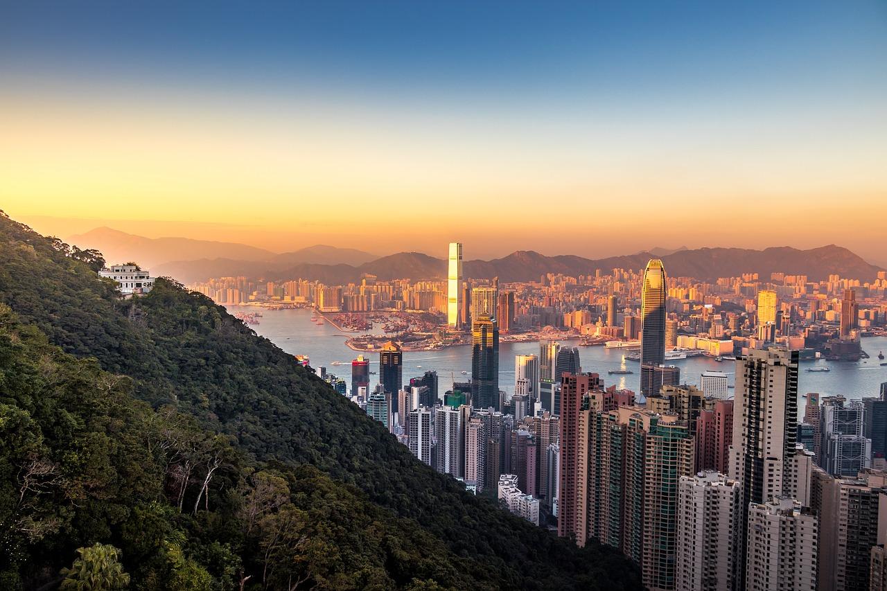 Hong Kong pachnący port